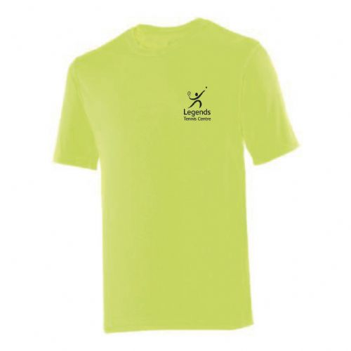 Legends Tennis Yellow Team Player 2018 T-Shirt Adults